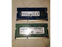 2GB DDR3 Laptop Mini ITX Ram Various makes x 10