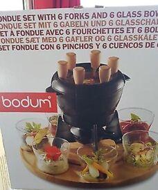 Nissan Bodum Fondue Set x6
