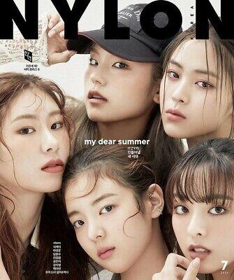 NYLON ITZY COVER KOREA ISSUE MAGAZINE 2020 JUL JULY NEW