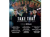 Take that tickets x 2 prime viewing