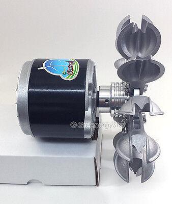 WindZilla PMA Pelton Water Wheel 17mm Adapter Micro Hydro Generator Turbine B