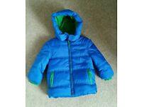NEW Jojo mamam bebe winter coat 2-3y