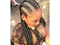 Afro-Caribbean Mobile Hair-Dresser WATFORD - Senegalese Twists, Box Braids styles, Cornrolls, Weave