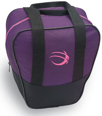 1 Ball Bowling Bag Tote Purple New Moxy Strike Bag To Carry Your Bowling Ball