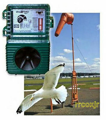 BIRD-X BIRDXPELLER XPELLER PRO SONIC SOUND REPELLENT SCARE DEVICE SCARECROW 110V](Scare Sounds)