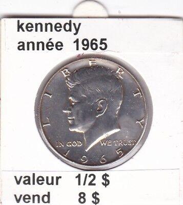 e2 )pieces de 1/2 dollar kennedy 1965