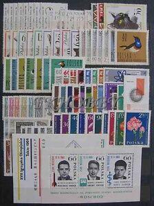 Poland Polen 1964 ** MNH Kompletter Jahrgang Complete Year Year Set ( b) - Dabrowa, Polska - Poland Polen 1964 ** MNH Kompletter Jahrgang Complete Year Year Set ( b) - Dabrowa, Polska