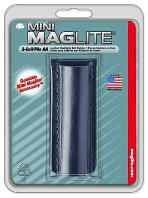 Maglite Minimag Lampe Torche 2 piles AA Holster 14 LM Xenon Silver SM2A10H