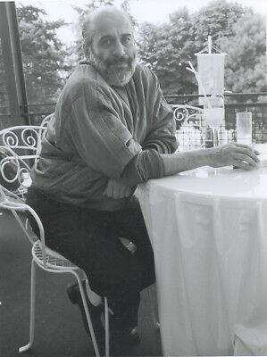 Foto vom deutscher Sänger DRAFI DEUTSCHER - Vintage von 1995 - SW Pressefoto