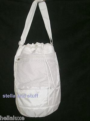 1957cbb82c53 RARE~Stella McCartney Adidas PACKAWAY SWIM BAG CarryOn Beach Gym Duffel  Knapsack