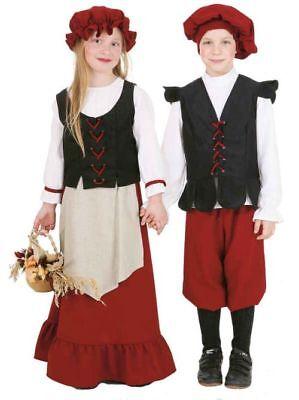 Kinder Kostüm Bauern Mädchen als Bäuerin verkleiden zu Karneval Fasching ()