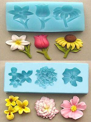 Sugarcraft Molds Cake Decorating Tools  FLOWER set mold 04