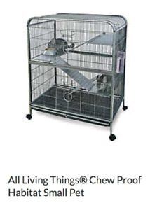 All Living Thing Chew Proof Small Animal Cage