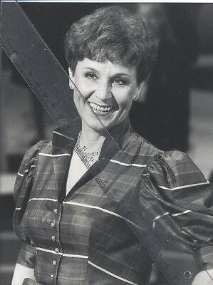 Foto österreichische Sängerin LOLITA - Vintage von 1986 SW Pressefoto - Schlager