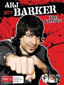 Arj Barker - The Killogy (DVD, 2011, 3-Disc Set)
