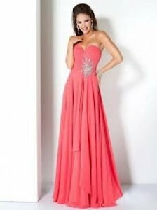 Coral Dress for Prom/Wedding/Semi, prom