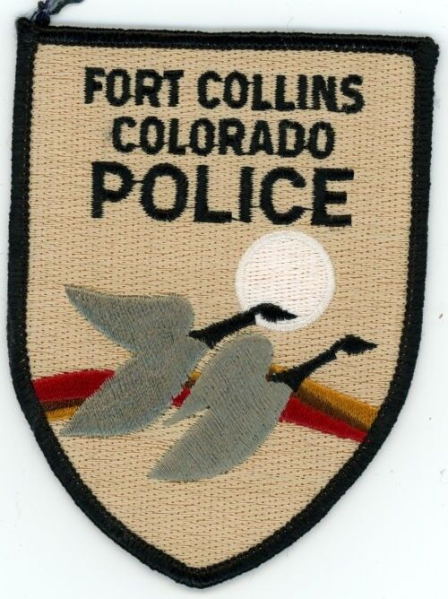 FORT FT COLLINS COLORADO CO POLICE COLORFUL PATCH STYLE #2 SHERIFF CANADA GEESE