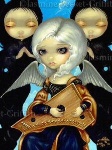 Angel-with-a-Psaltery-Jasmine-Becket-Griffith-CANVAS-PRINT-renaissance-fairy-art