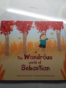 Personalised Child's Book-The Wonderous world of Sebastian