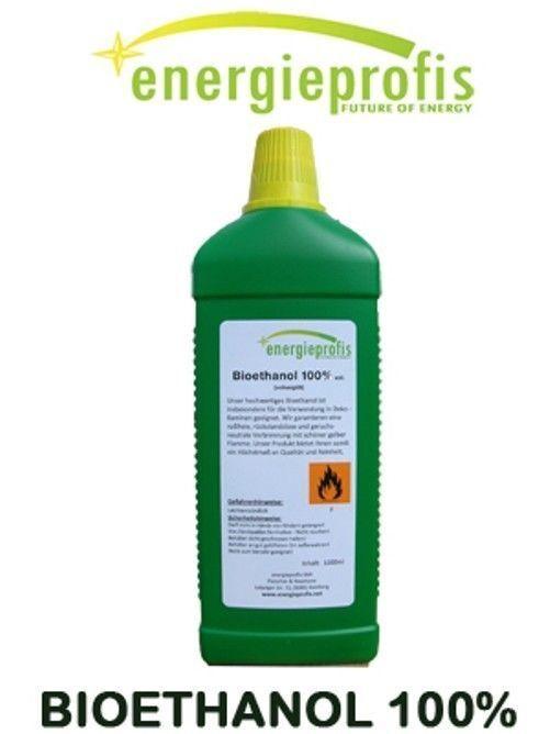10 x 1 Liter Bio Alkohol 100%  Ethanol Bioethanol Kamin