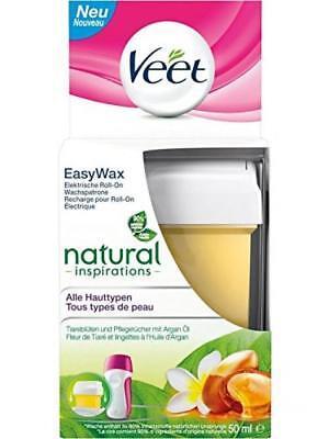 Veet EasyWax Nachfüll-Patrone essential inspirations, für alle Hauttypen,...