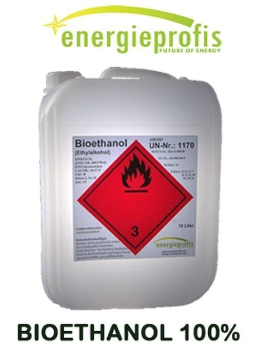20 L (2x10 L) Bio Alkohol 100%  Ethanol Bioethanol Kamin