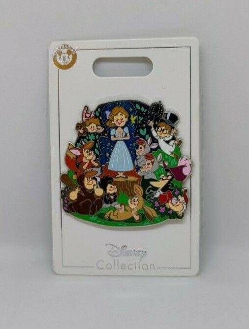 Peter Pan Wendy John Michael Darling Lost Boys Hook 2021 Disney Parks Family Pin
