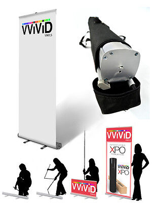 32 X 79 Retractable Banner Stand Sign Display