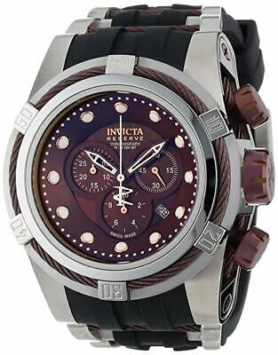 NWT Mens Invicta Reserve Bolt Zeus 0830 Poly 500 M Wrist Watch
