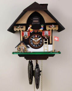 """Cuckoo clock """"The Seesaw and the Puppy"""