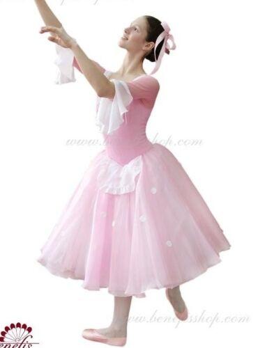 🇺🇸 Professional Masha Clara Pink Ballet Tutu Dress Costume Nutcracker S/M Adul