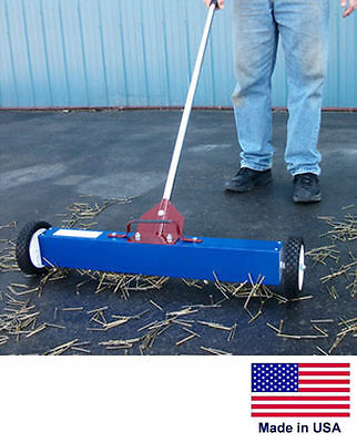 Magnetic Sweeper Commercialindustrial - 36 Cleaning Path - With Load Release