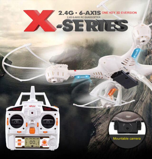 MJX X400-V2 2.4G RC Drone 6 Axis FPV 3D Roll Auto Return Headless Free Shipping