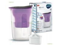 BRITA Fill & Enjoy Fun 1.5L Water Filter Jug with MAXTRA Refill Cartridge Purple