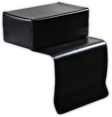 Kids Styling Chair - Child's Beauty Salon Styling Chair Booster Seat Black Kids Equipment BS002
