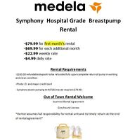RENT MEDELA'S (HOSPITAL GRADE) SYMPHONY BREAST PUMPS @ BABY SAM