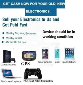 GET CASH NOW FOR OLD, NEW, IPHONE , SAMSUNG PHONE ELECTRONICS