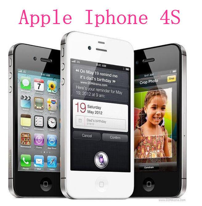 Apple iPhone 4S 16GB GSM Factory Unlocked iOS Smartphone(A+++) - Black & White