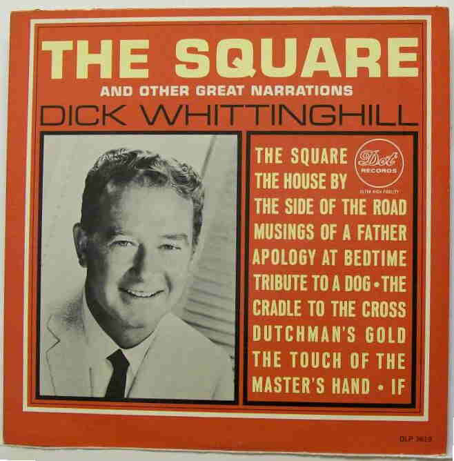 The Square & Other Great Narrations - Dick Whittinghill - LP