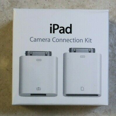 Apple - iPad Camera Connection Kit Model A1362 & A1358  Genuine New In The Box