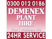 All Types Of Plant & Machinery Hire I Digger Hire I Low Loader I Hiab Hire - London & M25