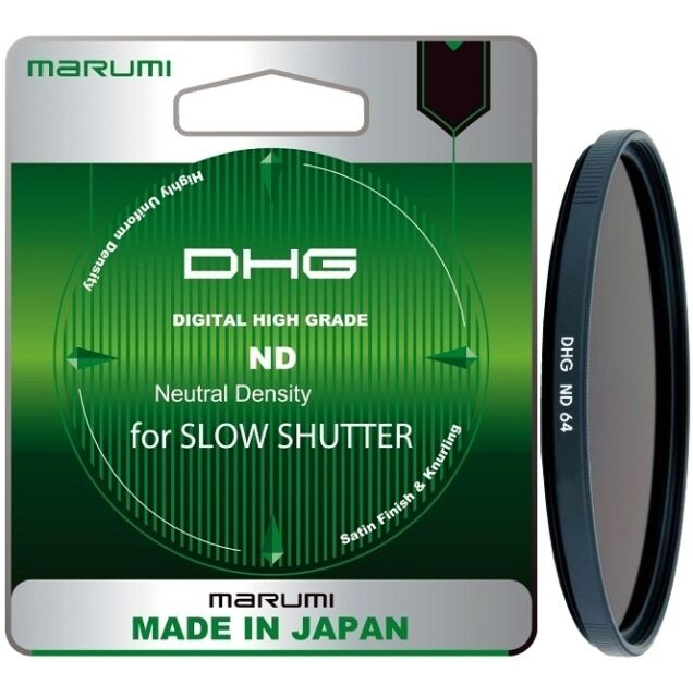 Marumi 62mm DHG ND64 Neutral Density Filter - DHG62ND64