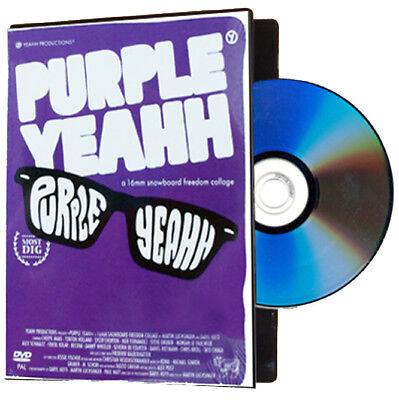 Purple Yeahh  - Snowboard / Snowboarding DVD - SALE PRICE