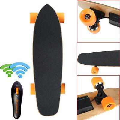 7 Inch Remote Control Four Wheels Electric Skateboard Longboard Skate Board