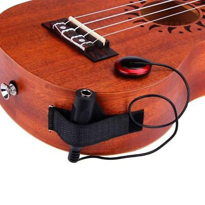 Acoustic Piezo Contact Microphone Pickup for Guitar Violin Mandolin Ukulele USA