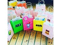 Hair bow party bags