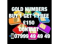 GOLD VIP MOBILE NUMBERS BUY1 GET1 FREE CHEAPEST