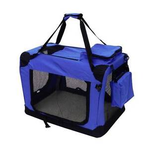Pet Dog Cat Crate Portable Carrier Cage Tent Kennel Folding small Athelstone Campbelltown Area Preview