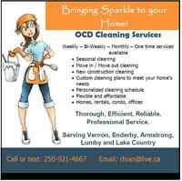 OCD Cleaning - Housekeeping and Janitorial Services