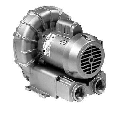 Gast Regenerative Blower Model R4310a-2 - 1 Hp 3 Phase 220v460v